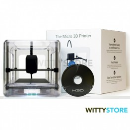 The Micro 3D Printer - Retail Edition - Clear Version