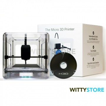The Micro 3D Printer - Edicion Retail - Transparente