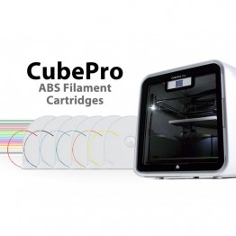CubePro ABS Filament Cartridges