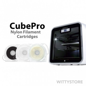 CubePro Nylon Filament Cartridges
