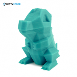 Low-Poly Totodile Modelo 3D