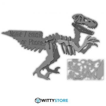 Velociraptor Business Card