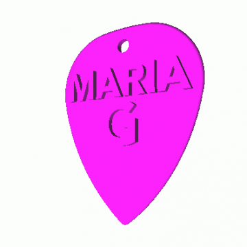 Standard Pick Maria with Initial letter