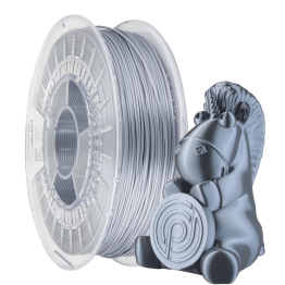 PrimaSelect Glossy PLA Liquid Silver 1.75mm 750 g