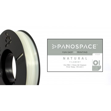 Filamento Panospace 1.75mm PLA Natural