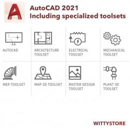 AutoCAD 2021 programma CAD proffesionale 2D e 3D