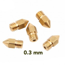 Creality CR-10 Brass Nozzle 0.3mm