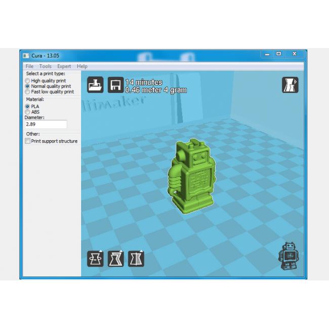 Cura Free 3d Printing Software