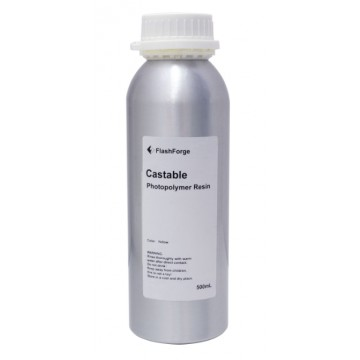 FlashForge Castable Resin 500mL