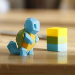 Low-Poly Squirtle 3D Model