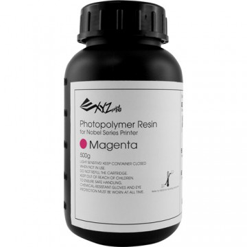 XYZprinting Nobel Resin Magenta Red 500 ml Bottle