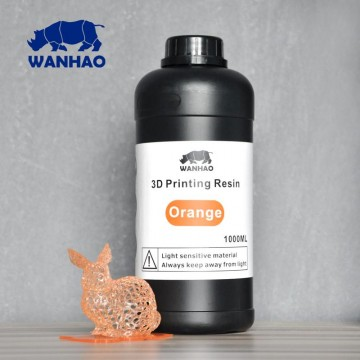 Wanhao 3D Printer UV Resin 1000 ml Orange