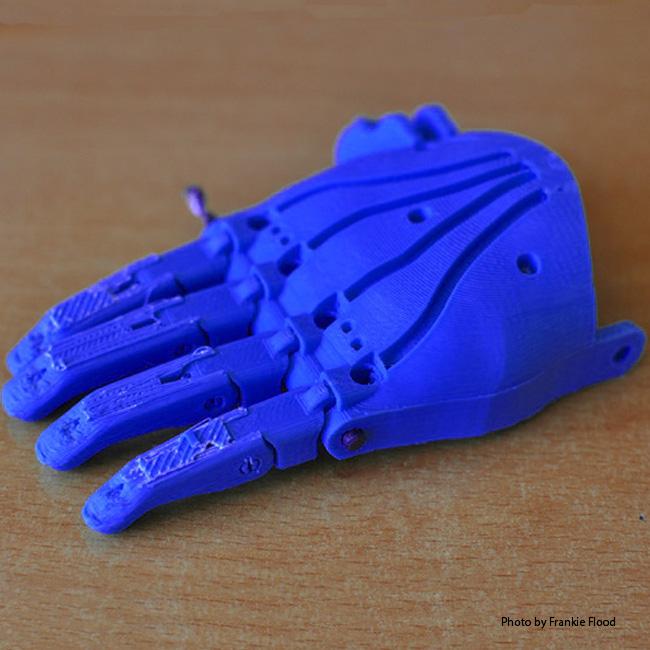 3D Printed Prosthetics Hand