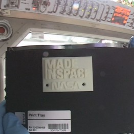Made in Space Nasa