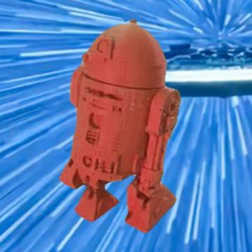 R2-D2 en 3D