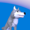 Cartoony Wolf
