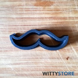 Cookie Cutter Moustaches 3D Model