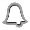 Cookie Cutter Bell 3D Model