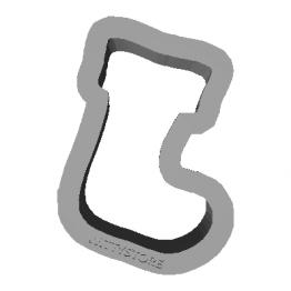 Cookie Cutter Boot 3D Model