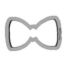 Cookie Cutter Bow 3D Model