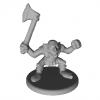 Goblin with Axe Miniature 3D Model
