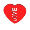 Love Pick 3D Model