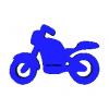 Llavero Motocicleta Modelo 3D