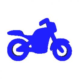 Portachiavi Motocicletta Modello 3D