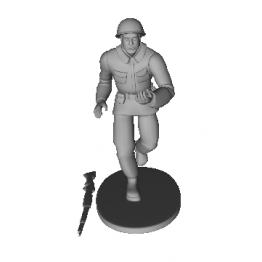 Soldatino Giocattolo Modello 3D N1