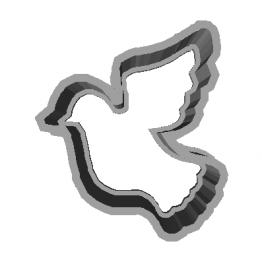 Cookie Cutter Dove 3D Model
