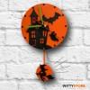 Orologio da parete Halloween