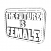 Magnet The Future is Female 3D Model