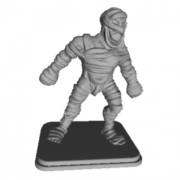 Mummy Miniature 3D Model