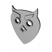 Owl Guitar Pick N2