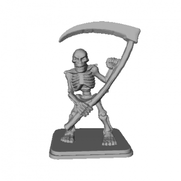 Skeleton Miniature 3D Model