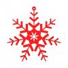 Snowflake 3D Model N3