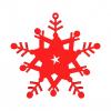 Fiocco di neve modello 3D N4