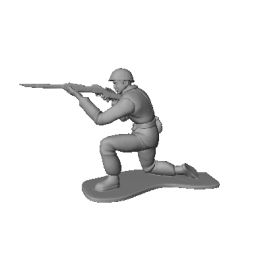 Soldier Toy 3D Model N2