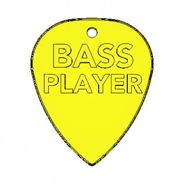 Standard Pick Bass Player