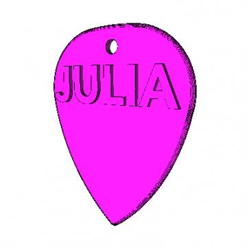 Púa Estandard Julia