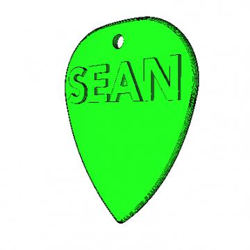 Púa Estandard Sean