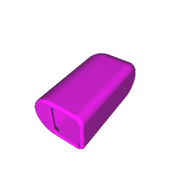 Toothbrush Cover 3D Model