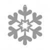 Snowflake 3D Model N1