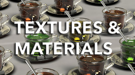 3D Textures and Materials wittystore.com